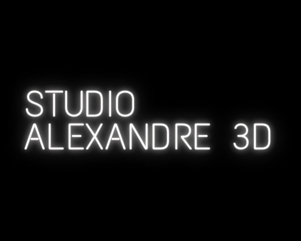 Studio alexandre 3D